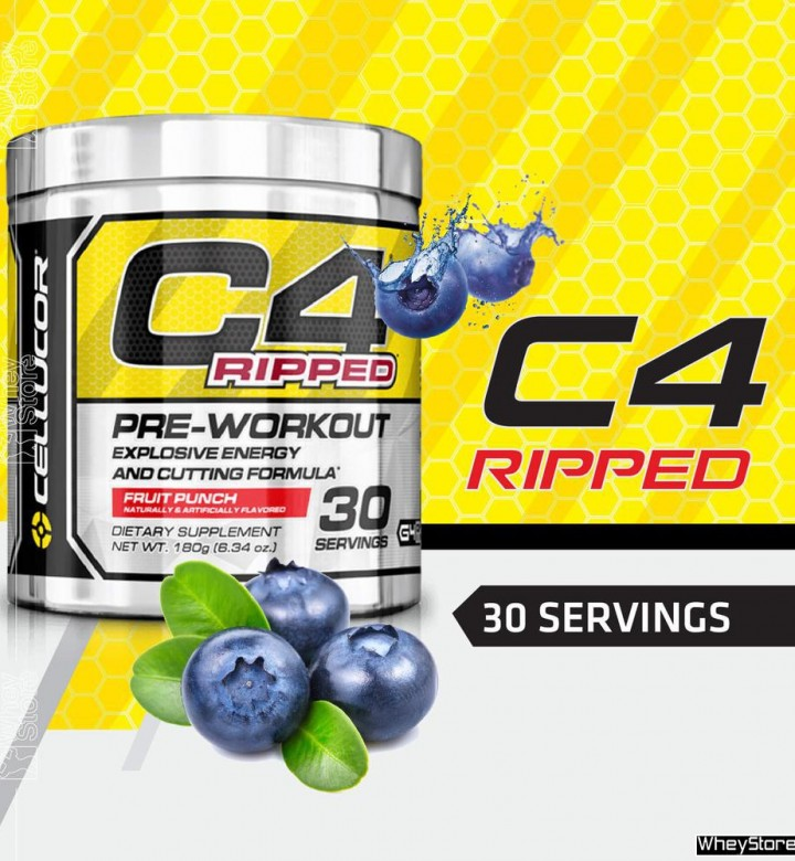 C4 ORIGINAL PREWORKOUT 30s