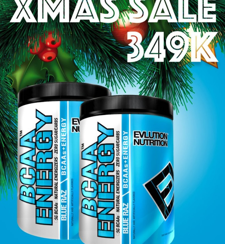 EVL BCAAs Energy 30s
