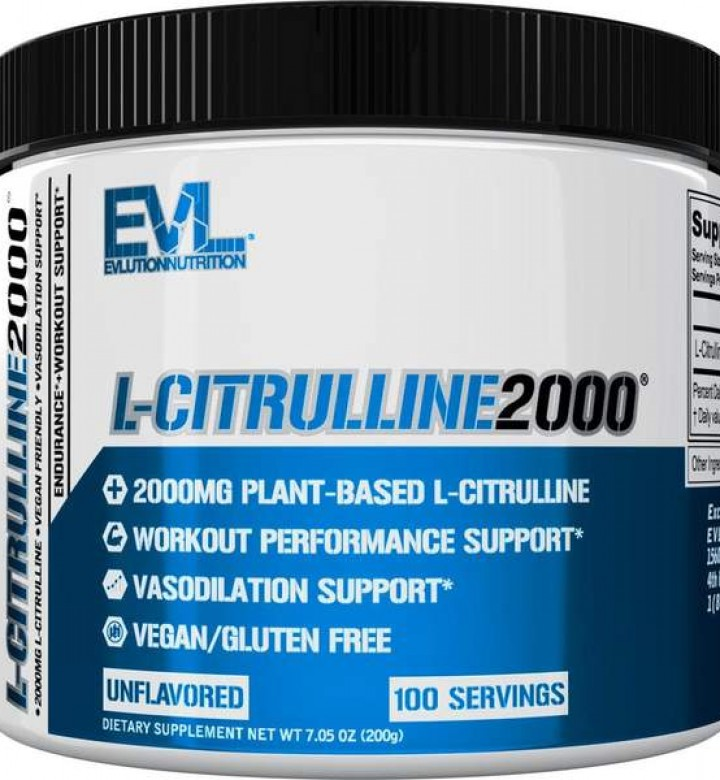 EVL l-Citrulline 2000 (100 servings)