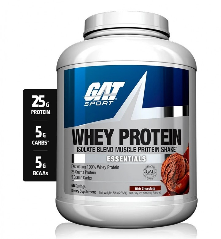 GAT WHEY PROTEIN 5LBS