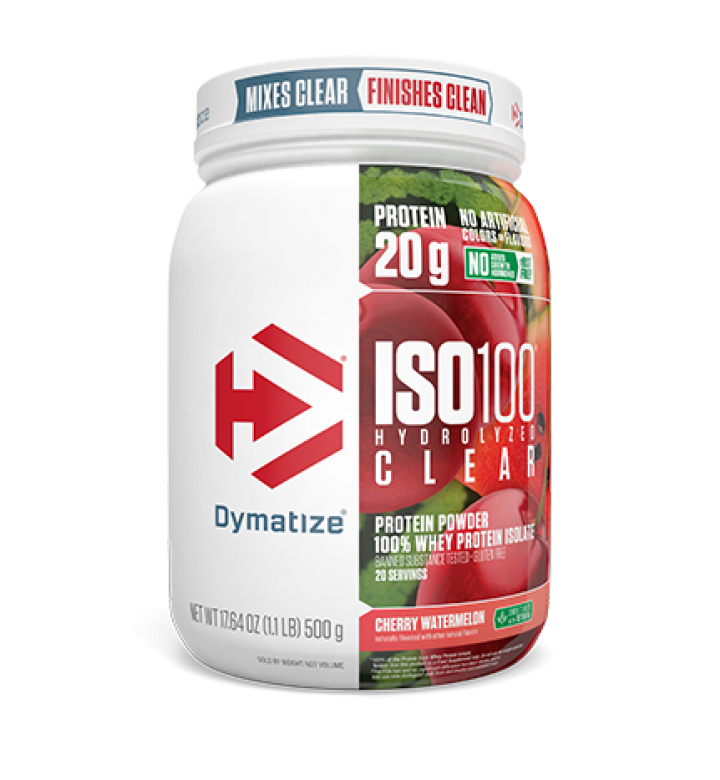 ISO100 HYDROLYZED CLEAR - 20 servings