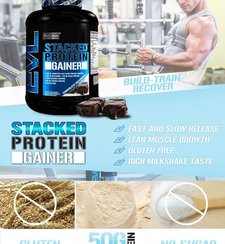 Stack Protein Gainer